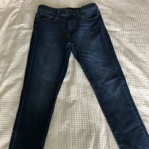 Banana Republic high rise skinny jean